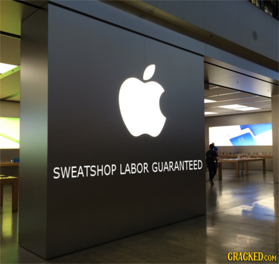 LABOR GUARANTEED SWEATSHOP CRACKED