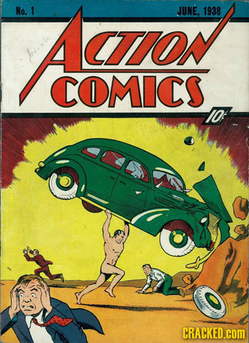 No. Aaron 1 JUNE, 1938 CTON nb COMICS I0f CRACKED.cOM
