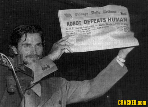 Daila olssa HIrsgo Hae HUMAN ROBOT DEFEATS ale S Sate llisnd COP Sen l CRACKED.COM