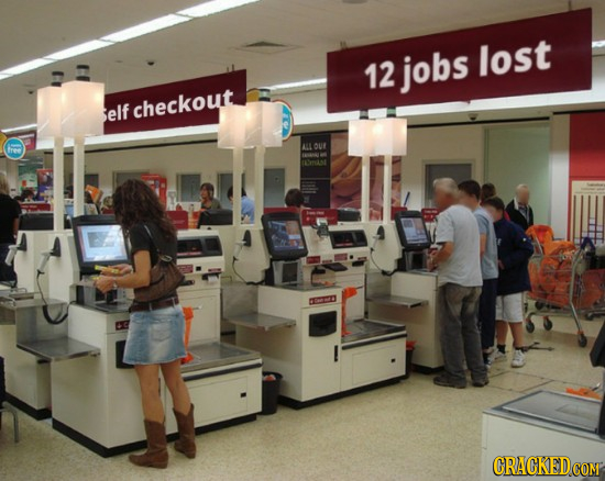 12 jobs lost elf checkout ALL OUY free AA0 eet