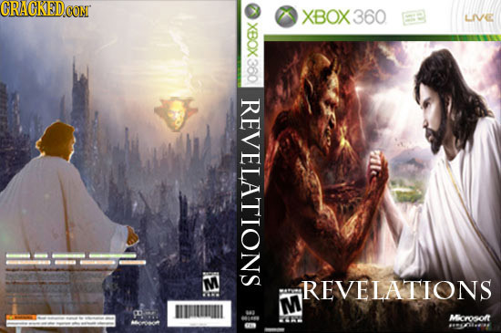CGRACKEDE CON XBOX360 LIVE XBOX 360 REVELATIONS M REVELATIONS M CD Microsoft 11-161