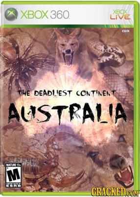 XBOX 360 XBOX LIVE OV THE DEADI'EST CONTINENT AUSTRALIA MATE1 M CRACKEDCO