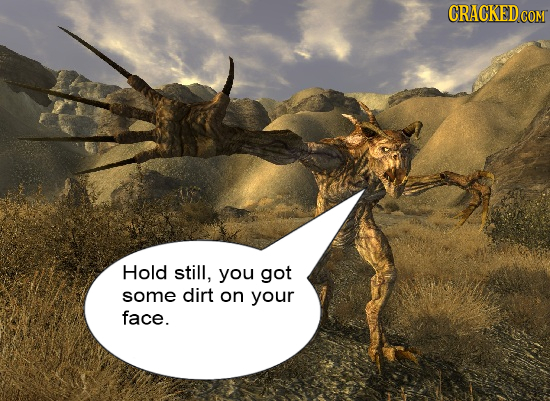 If Every Video Game Character Could Talk