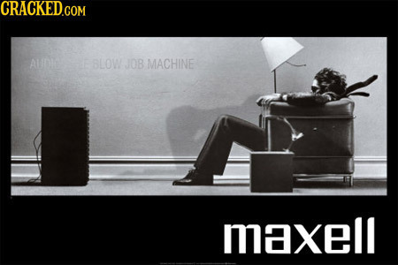 AuDe E BLOW JOB MACHINE maxell