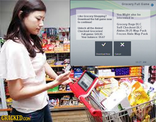 Grocery Full Game You Might also be Like Grocery Shopping? interested in Downloadthe full game now to continue Grocery Bags DLC Unlock all the Aisles!