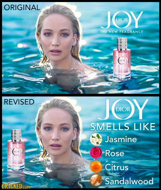 ORIGINAL JOY DIOR THE NEW FRAGRANCE DN REVISED JOOY DIOR SMELLS LIKE Jasmine DN Rose Citrus Sandalwood