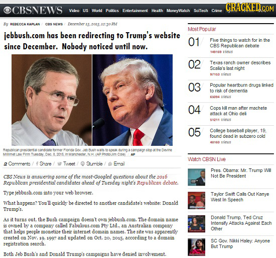 15 'Real' Headlines The Media's Too Afraid To Write (2/26)