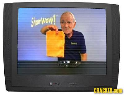 Shamwow! CRACKED COM