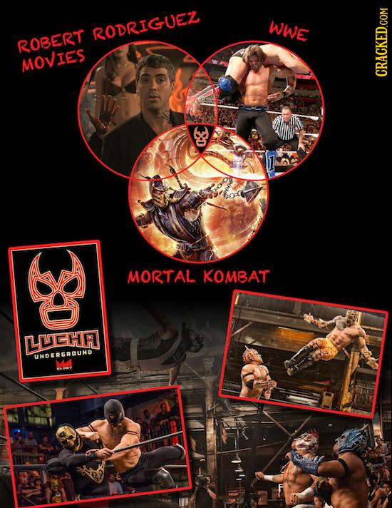 WWE RODRIGUEZ ROBERT MOVIEs MORTAL KOMBAT LUELA I TUNDEREROUND