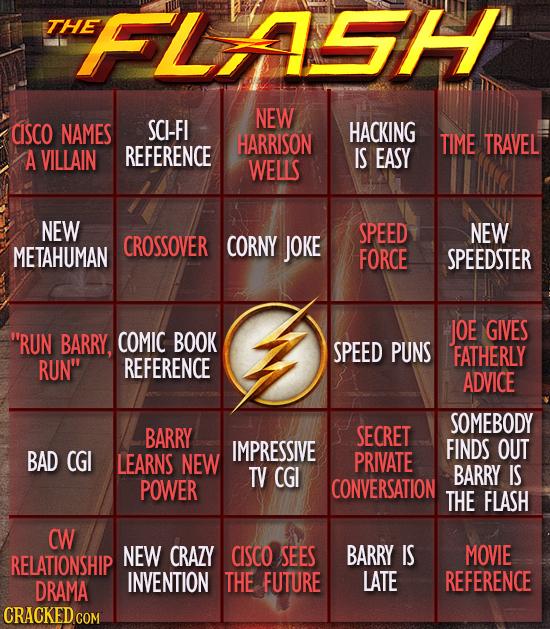21 Bingo Cards For Watching Formulaic TV Shows