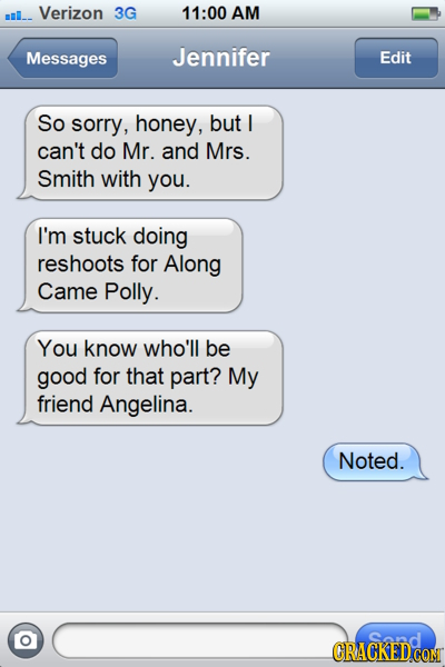 16 Lost Text Messages That Would Explain Everything