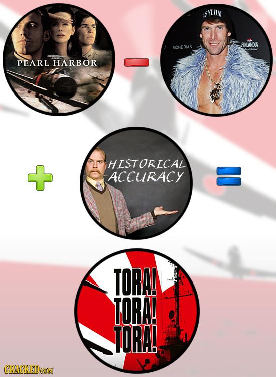 SYL IM FINLANDIA MONDRIAN PEARL HARBOR HISTORICAL ACCURACY 5 TORA! TORA! TORA!