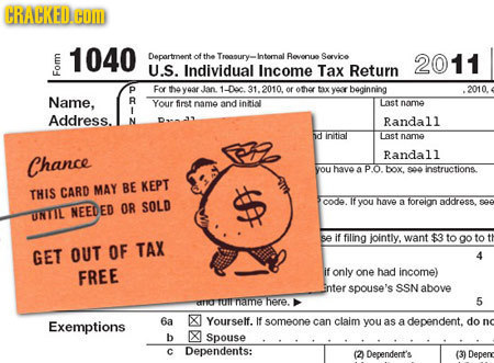 HRAHKFILHOL 1040 Department of tha Troaoury- Intemal Revenue Sorvice 2011 U.S. Individual Income Tax Return For D For the year Jan. 1-Doc. 1.2010. of