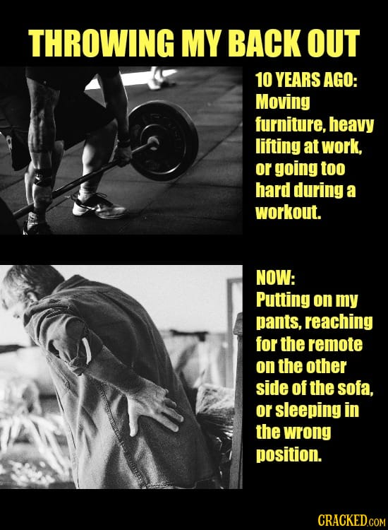 Why You Do The Things You Do: Then Vs. Now
