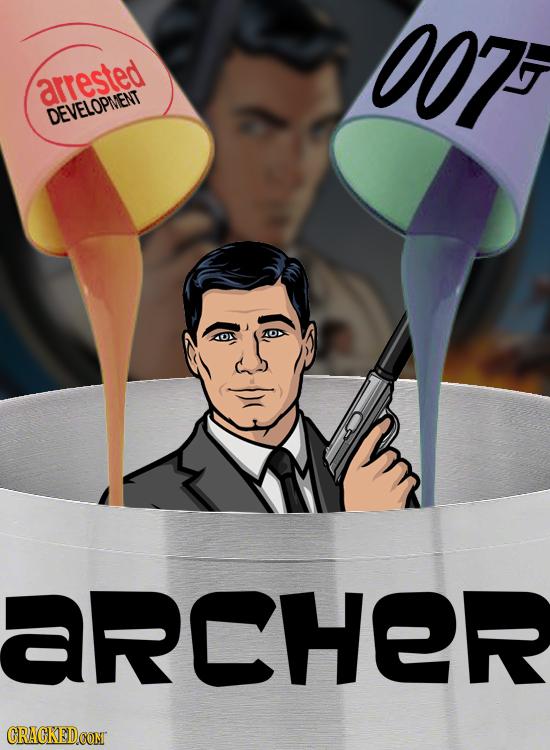 007 arrested DEVELOPNENT ARCHER CRACKEDCONI