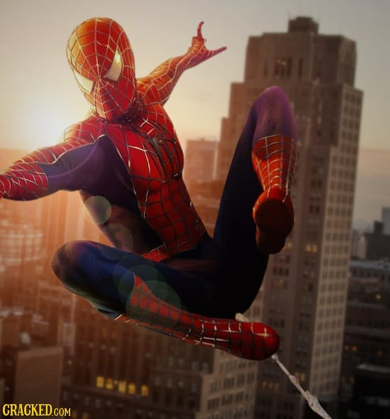 If Superheroes Had To Live In The Real World