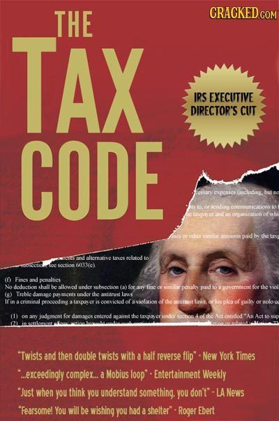 THE CRACKED COM AX IRS EXECUTIVE DIRECTOR'S CUT CODE Fessary expenset (inchuding but 10. or sending communacations to er and an organation othce cimit