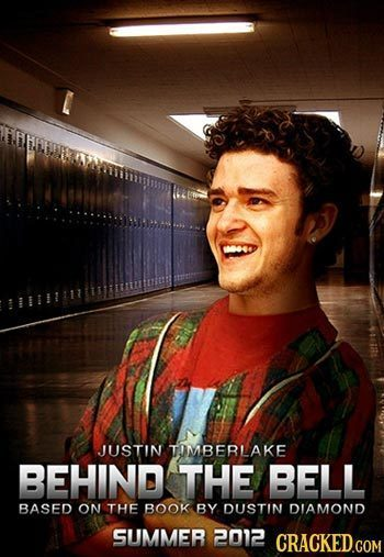 JUSTIN TOMBERLAKE BEHIND THE BELL BASED ON THE BOOK BY DUSTIN DIAMOND SUMMER 2012 CRACKED.COM
