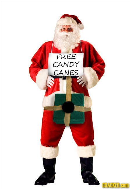 FREE CANDY CANES CRACKED HOM
