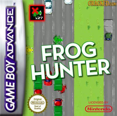 CRAGKEDC IM X x27 FROG NDVINCE HUNTER BOY Original Nintendo LICENSED BY Sealof Quality Nintendo GAME