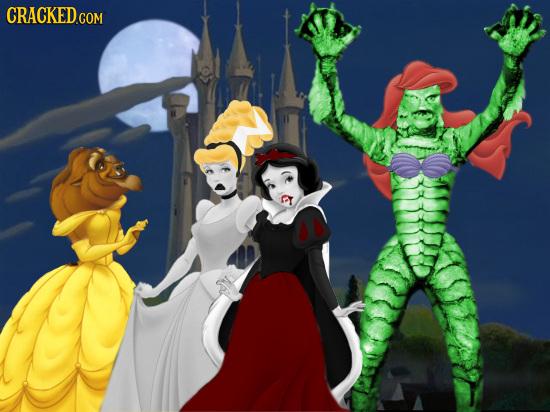 20 Bizarrely Awesome Ways Disney Princesses Were Reimagined