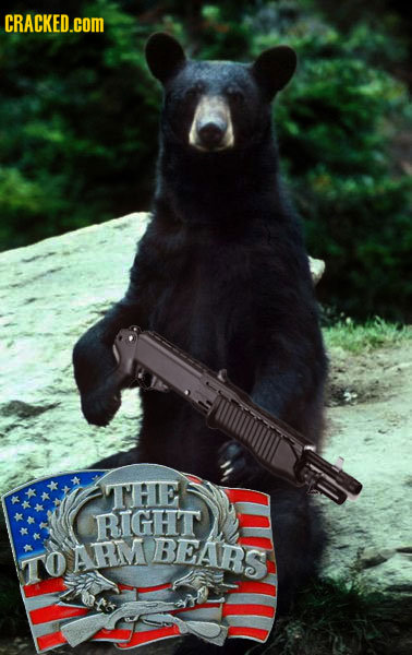 CRACKED.COM THE RIGHT ARM BEAR TO