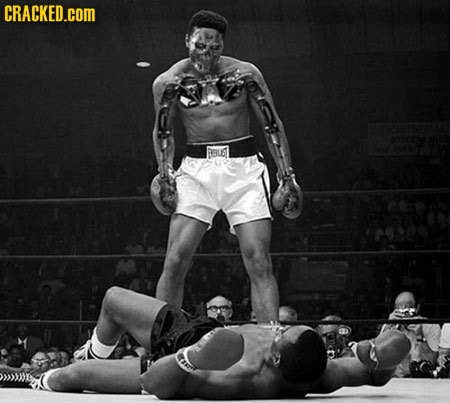 20 Famous Images As Seen With X-Ray Vision