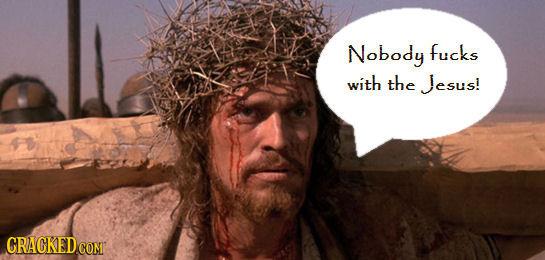 Nobody fucks with the Jesus! CRACKEDCON