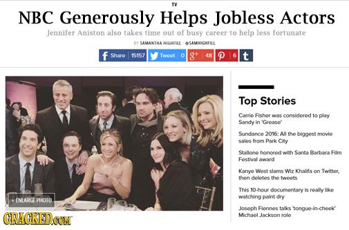 15 'Real' Headlines The Media's Too Afraid To Write (2/05)