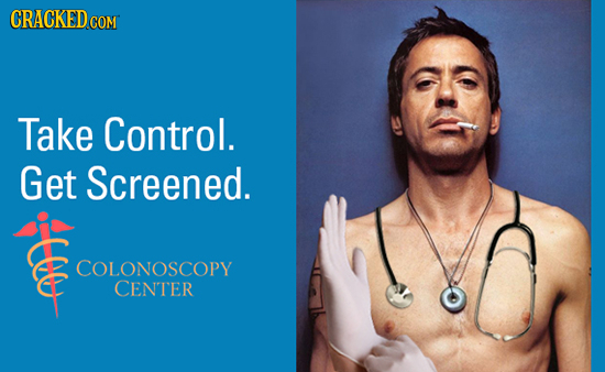 CRACKEDco COM Take Control. Get Screened. COLONOSCOPY CENTER