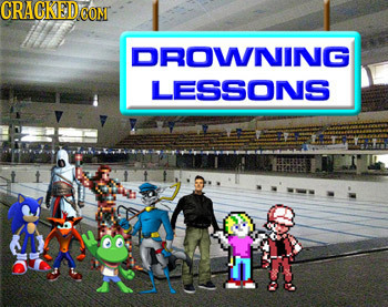 CRACKED CONT DROWNING LESSONS