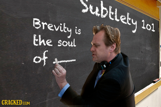 suDtlely Brevity lol is the soul of CRACKED COM