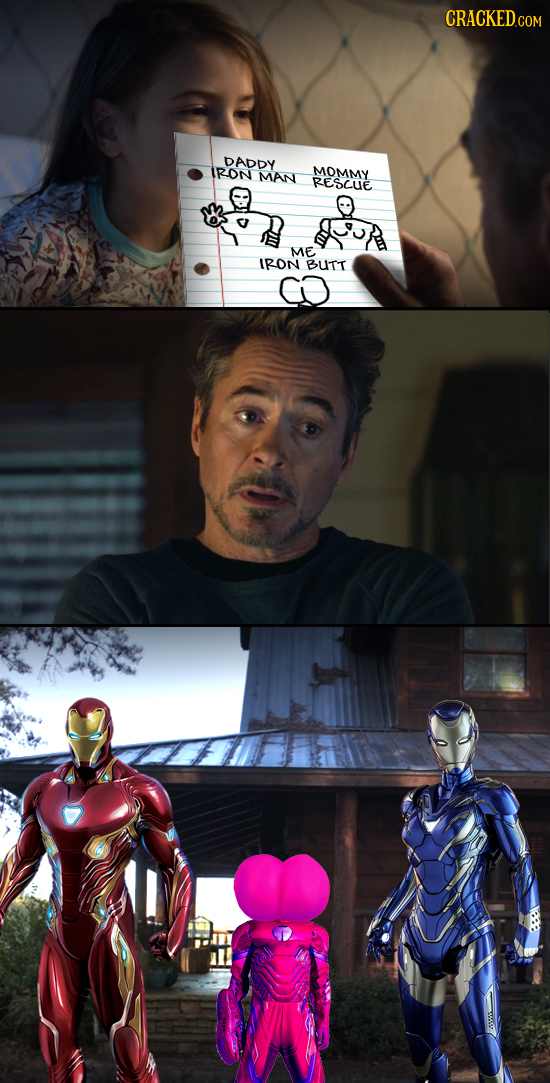 DADDY IRON MOMMY MAN RESCUE ME IRON BUTT