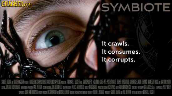 CRACKEDc SYMBIOTE It crawls. It consumes. It corrupts. AEPEN aWb LUBET