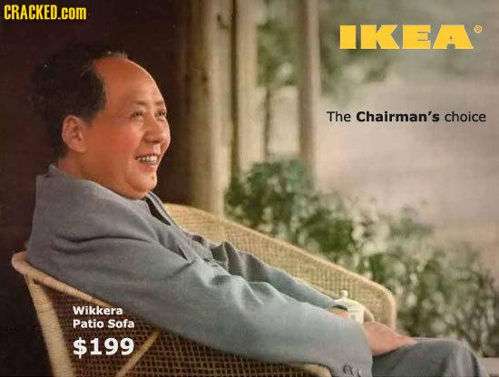 CRACKED.cOM IKEA The Chairman's choice Wikkera Patio Sofa $199