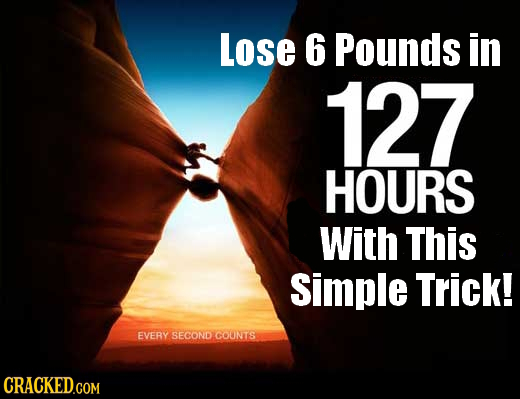 Lose 6 Pounds in 127 HOURS With This Simple Trick! EVERY SECOND COONTS CRACKED.COM