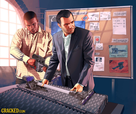 20 Scenes from the PG Version of 'Grand Theft Auto'