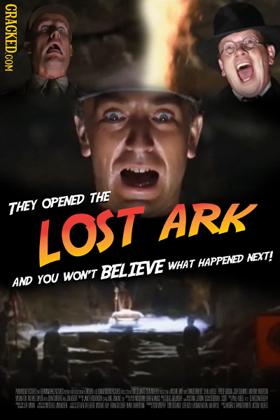 CRACKED.COM THE THEY OPENED ARK LOST NEXT! WHAT HAPPENED BEL TEVE yOU WON'T AND