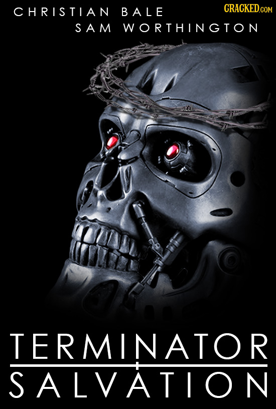 CHRISTIAN BALE CRACKED.COM SAM WORTHINGTON TERMINATOR SALVATION