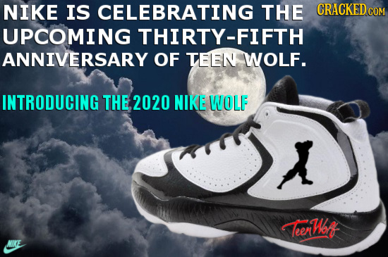 NIKE IS CELEBRATING THE CRACKEDCOR UPCOMING THIRTY-FIFTH ANNIVERSARY OF TELEN WOLF. INTRODUCING THE 2020 NIKE WOLF L TeerWof NIKE