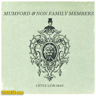 MUMFORD & NON FAMILY MEMBERS LITTLE LION MAN CRACKED.G COM