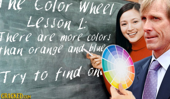 ne Olor Wheer LESSON L: here arl morl color! han orangl and blie Try to find on CRACKEDcO