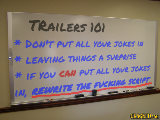 25 Lessons Hollywood Must Be Taught