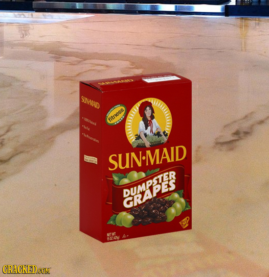 SUIMMAD fitness + *Who0n SUN.MAID GRAPES NET WT sAy CRACKEDCOMT