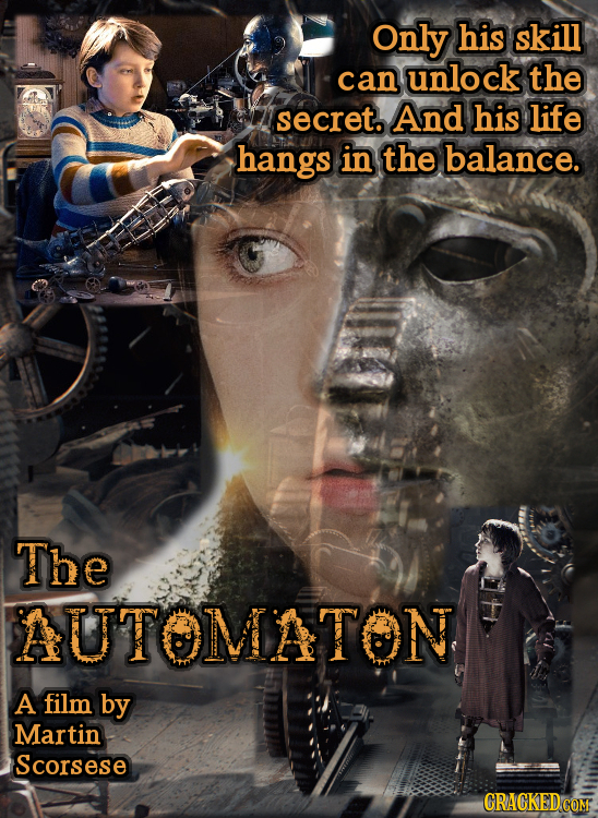 Only his skill can unlock the secret. And his life hangs in the balance. The AUTOMATON A film by Martin Scorsese CRACKED COM