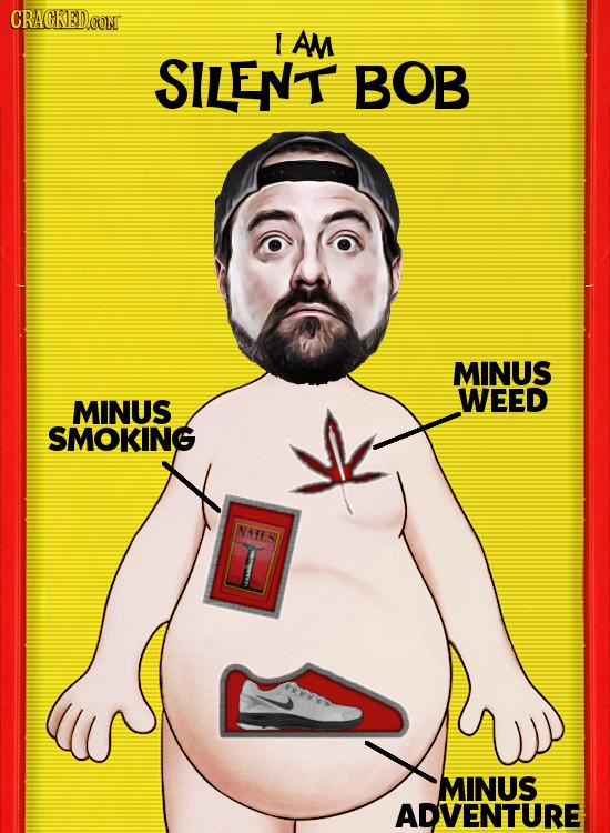 CRACKED.COM I AM SILENT BOB MINUS WEED MINUS SMOKING NATST MINUS ADVENTURE