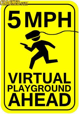 CRACKEDCON 5 MPH VIRTUAL PLAYGROUND AHEAD