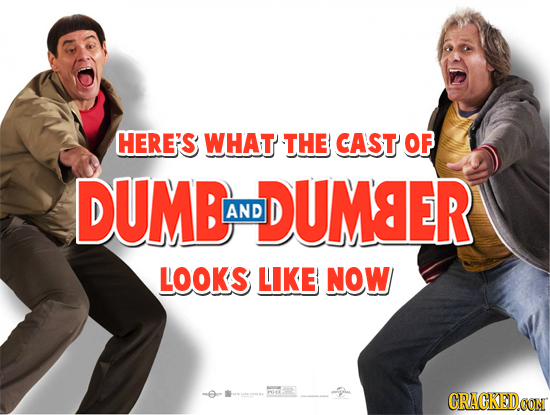 HERE'S WHAT THE CAST OF DUMB DUMSER AND LOOKS LIKE NOW CRACKEDCON