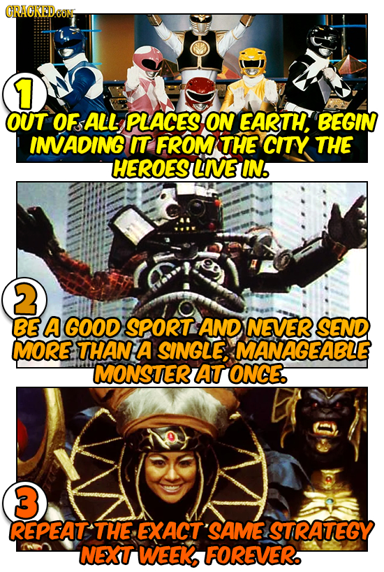 CRACKEDeO EONH 1 OUT OF ALL PLACES ON EARTH, BEGIN INADING IT FROM THE CITY THE HEROES LNE IN. 2 BE A GOOD SPORT AND NEVER SEND MORE THAN A SINGLE MAN