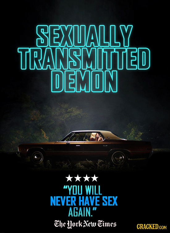 SEXUALLY TRANSMITTED DEMON YOU WILL NEVER HAVE SEX AGAIN. Che dork 1cw Cimcs